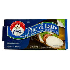International Cheese Co Santa Lucia Soft Cheese, 2 x 250 g