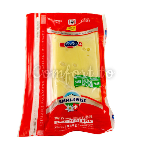 Emmi-Swiss Sliced Swiss Lactose Free Cheese , 0.5 kg