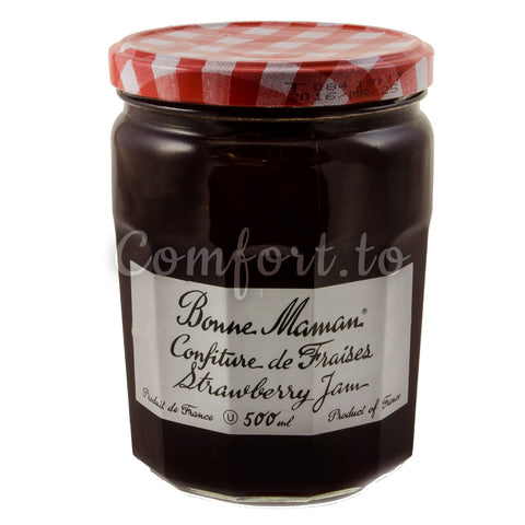 Bonne Maman Strawberry Jam, 500 mL