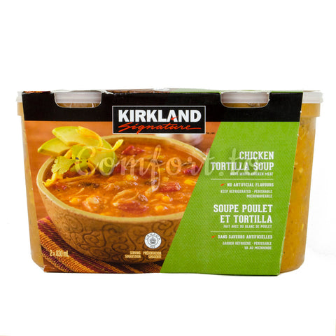 Kirkland Chicken Tortilla Soup, 2 x 0.8 L