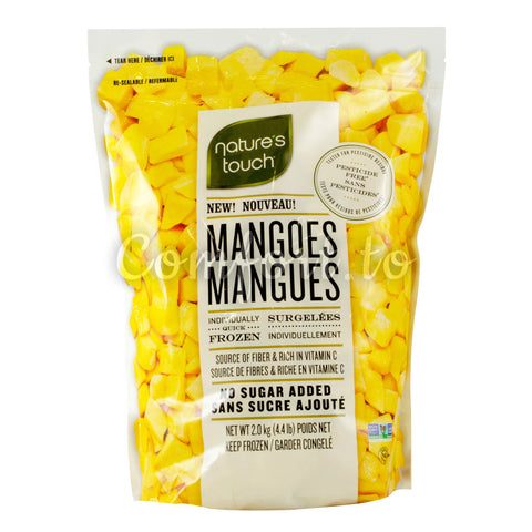 Nature's Touch Frozen Mangoes, 2 kg