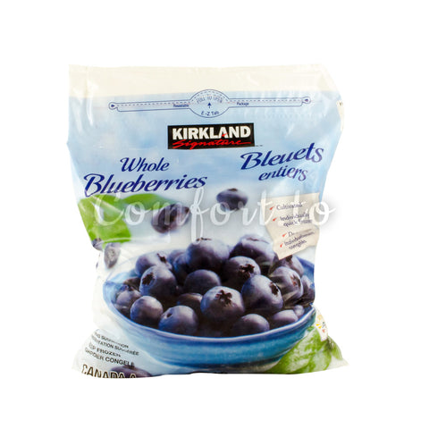 Kirkland Frozen Whole Blueberries, 2 kg