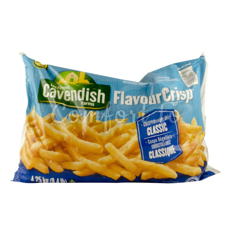 Cavendish Farms Frozen Straight Cut French Fried Potatoes, 4.3 kg