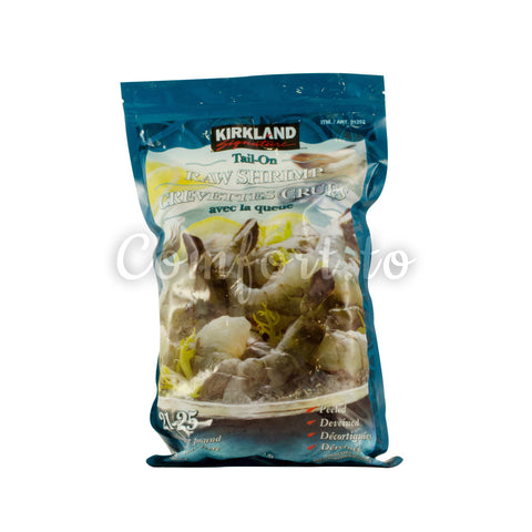 Kirkland Frozen Raw Shrimp 21/25, 680 g