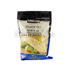 Kirkland Frozen Wild Caught Atlantic Cod, 907 g