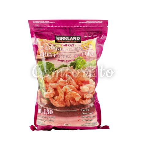 Kirkland Frozen Cooked Shrimp 90/130, 907 g