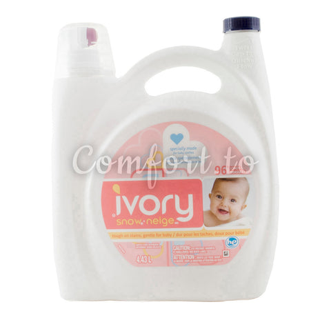 Ivory Snow Gentle Care Laundry Detergent, 96 loads