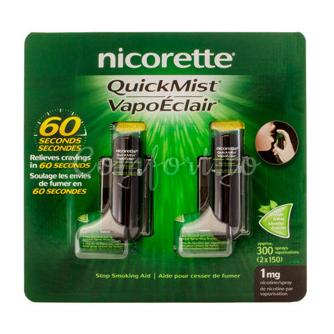 Nicorette 1mg QuickMist, 3 x 150 sprays