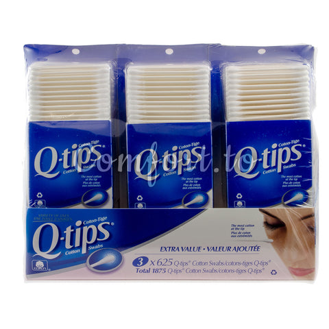 Q-tips Cotton Swabs, 1875 swabs
