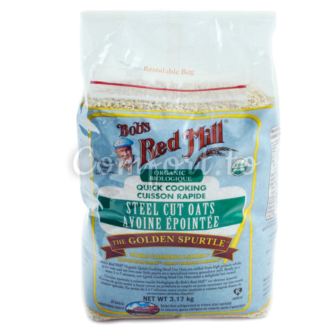 Bob's Red Mill Organic Steel Cut Oats, 3.2 kg