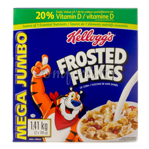 Kellogg's Frosted Flakes Corn Cereal , 2 x 0.7 kg