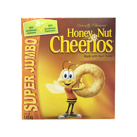 Cheerios Honey Nut Cereal, 2 x 0.7 kg