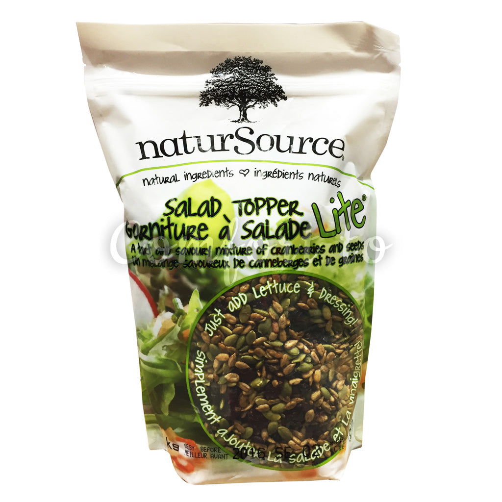 naturSource Cranberries and Seeds Salad Topper, 1 kg