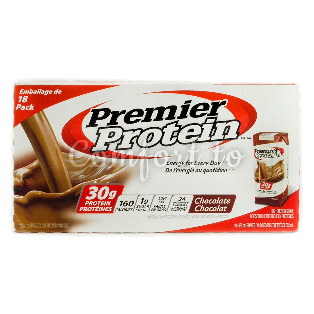 Premier Protein Chocolate Shake, 18 x 325 mL