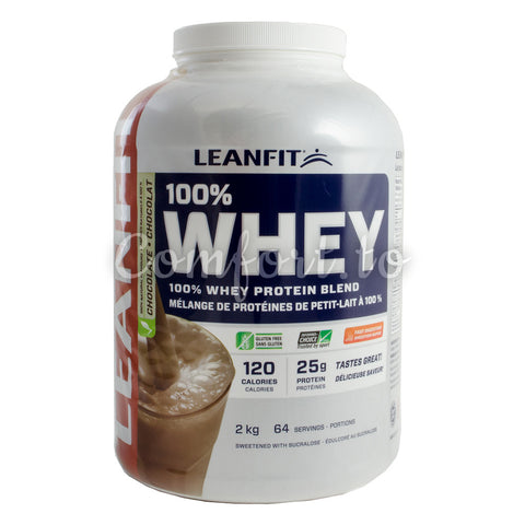 Leanfit Chocolate Whey Protein Blend, 2 kg