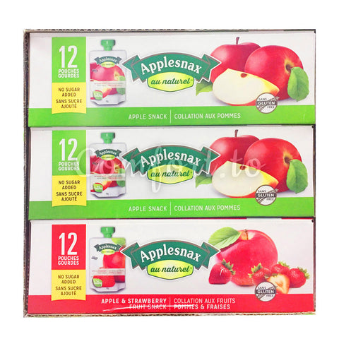 Applesnax Fruit Snacks Variety Pack, 36 x 90 g
