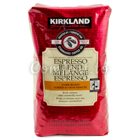 Kirkland Espresso Blend Dark Roast Whole Bean Coffee, 907 g