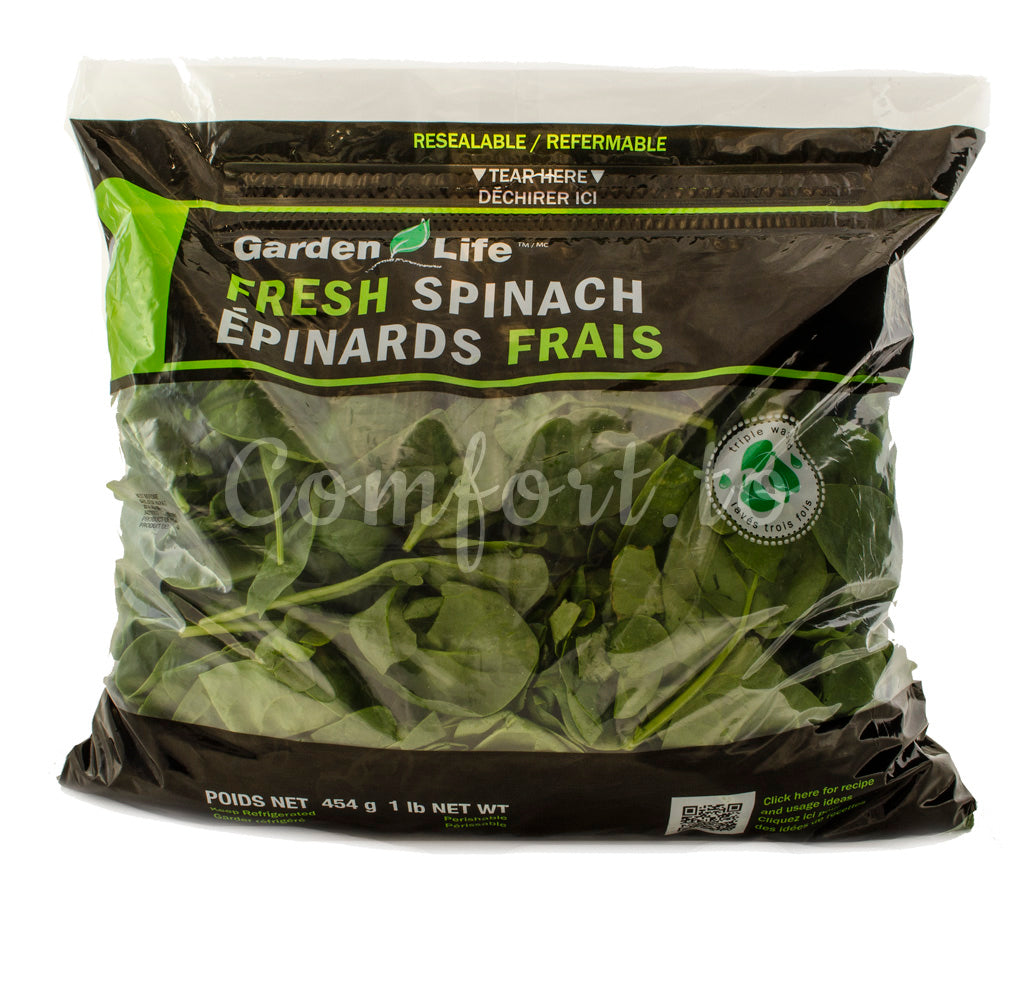Fresh Spinach, 454 g