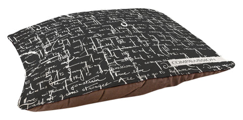 Compawssion Story Dog Bed (Black)