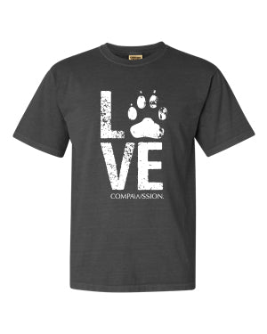 Love Paw Unisex T-Shirt (Pepper)