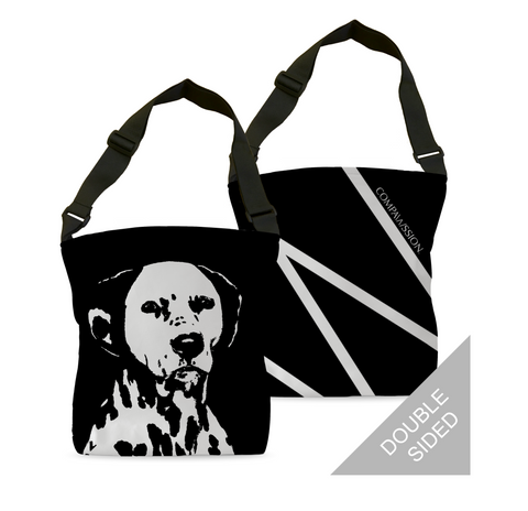 Milo Stamp Tote Bags