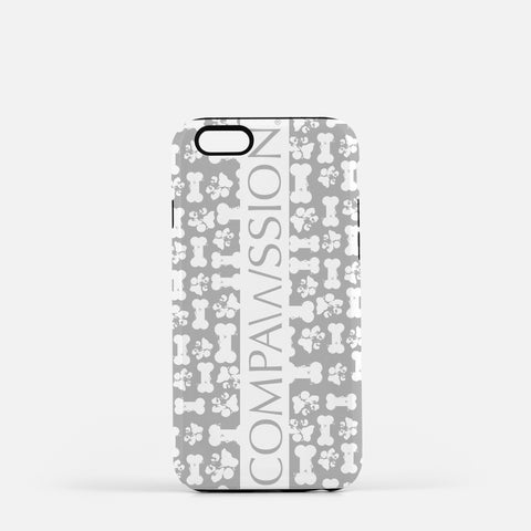 Gray Bones Phone Case