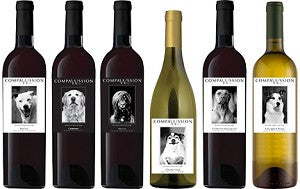 6 Ct. Compawssion Wine - Collector's Package
