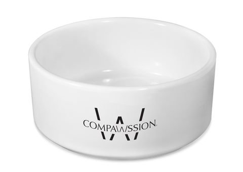 Compawssion Icon Dog Bowl