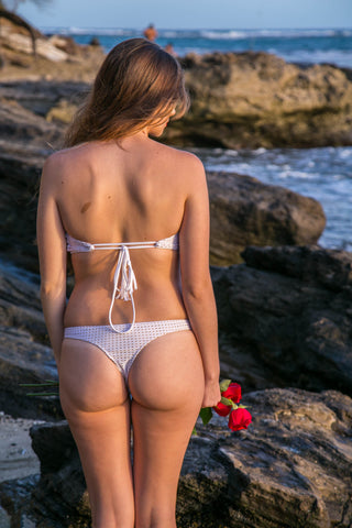 Hana Bottom - White Mesh