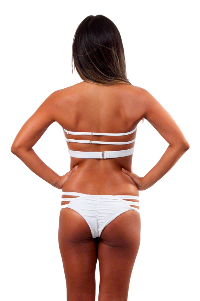 ISSA DE' MAR Sunset Bottom - White