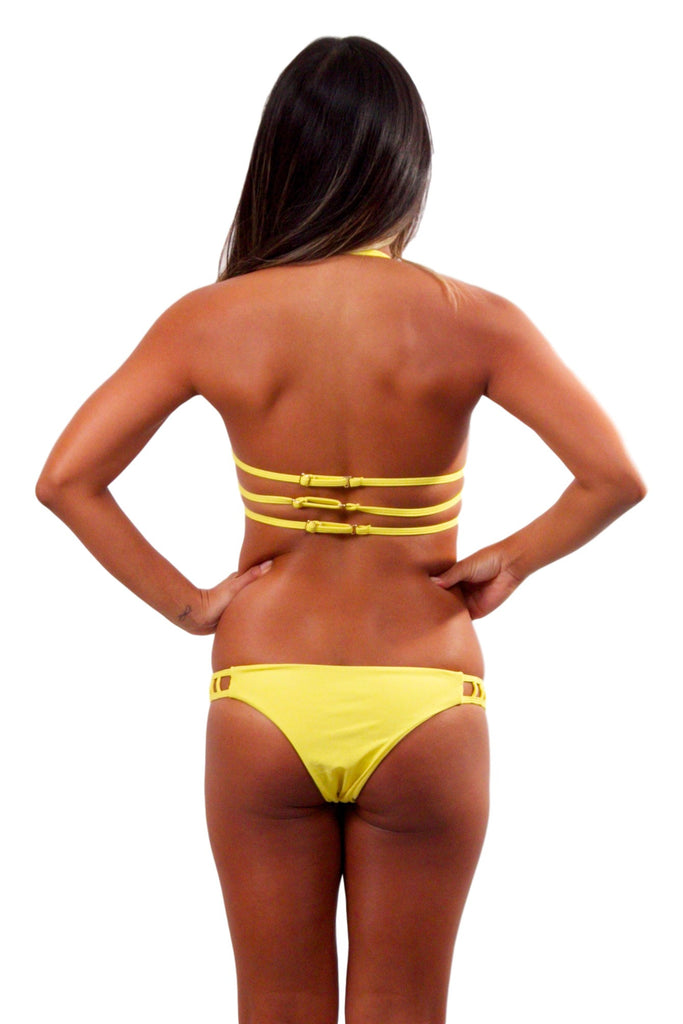 ISSA DE' MAR Hina Bottom - Yellow