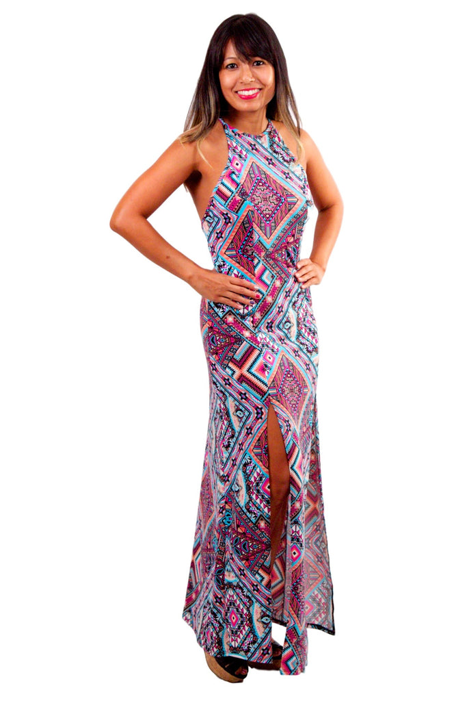 Perfectly Perfect Maxi Dress - Tribal