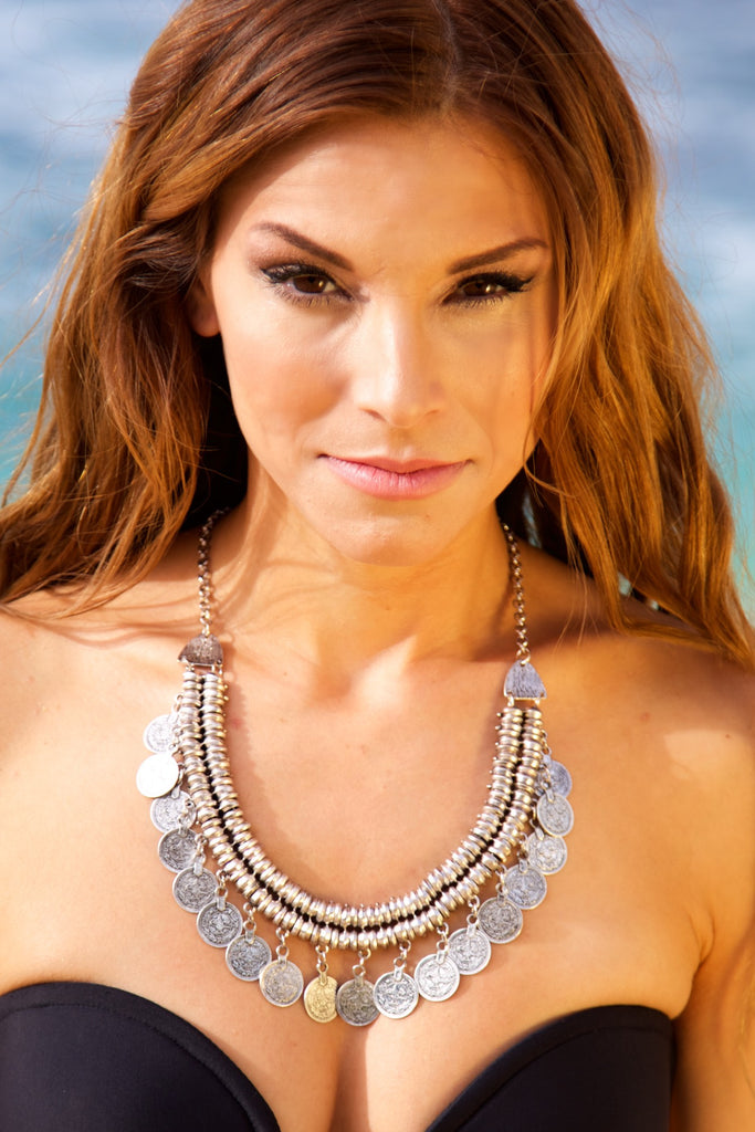 NOMAD HAWAII Goddess Necklace - Silver