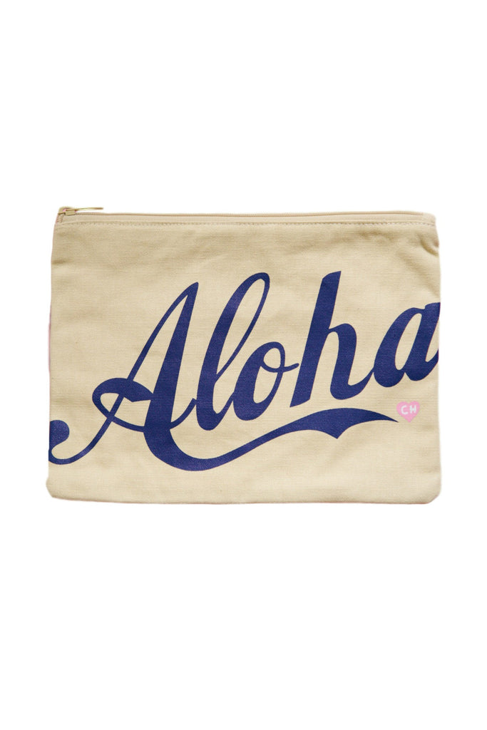 CAMERON HAWAII Large Clutch - Aloha Blueberry
