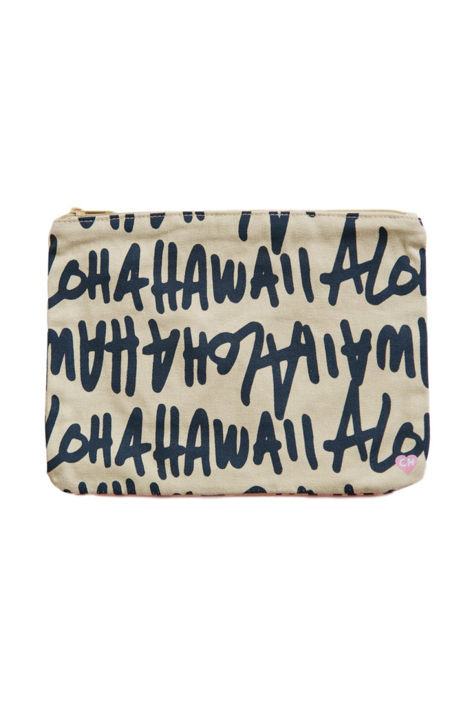 CAMERON HAWAII Large Clutch - Aloha Hawaii Kai