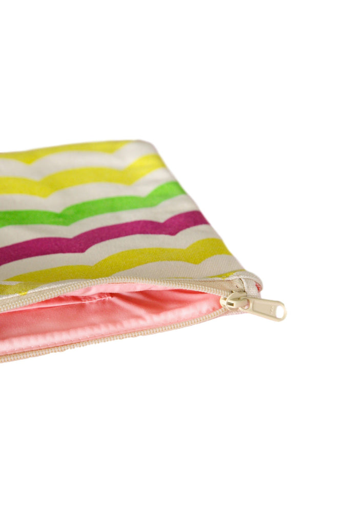 CAMERON HAWAII Large Clutch - Multi Waves Light