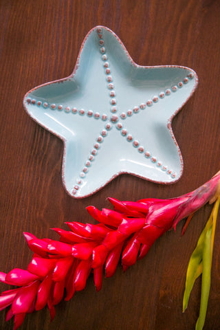 Starfish Dish - Sea Foam Green