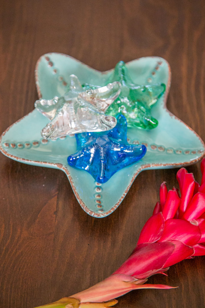 Starfish Paperweight - Sea Green