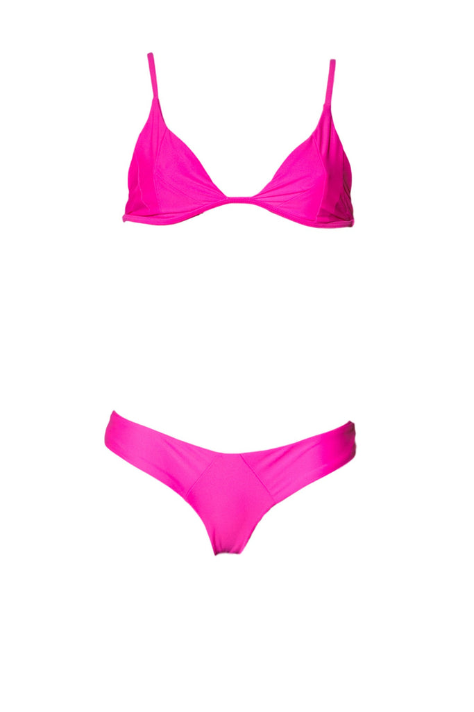 STONE FOX SWIM Isla Top - Guava