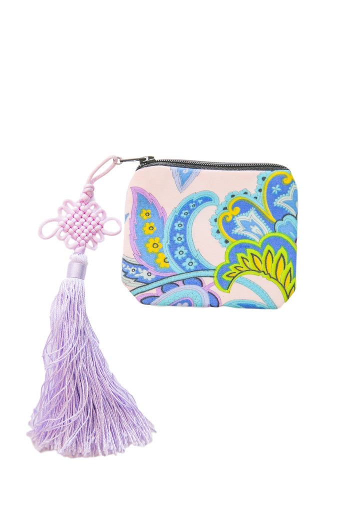 Itty Bitty Stash Coin Purse - Paisley Kisses