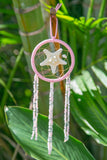 NOMAD HAWAII Small Ocean Dreamcatcher - Starfish/Baby Pink
