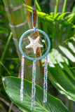 NOMAD HAWAII Small Ocean Dreamcatcher - Starfish/Peach & Mystic Blue