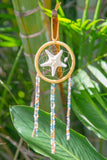 NOMAD HAWAII Small Ocean Dreamcatcher - Starfish/Goldenrod