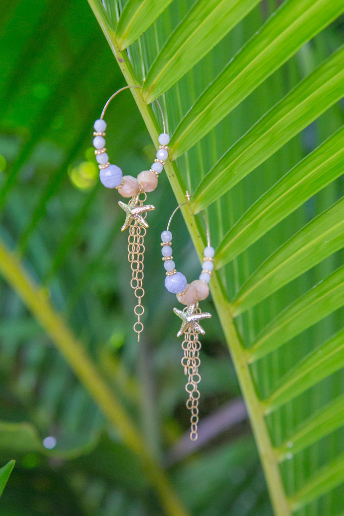 NOMAD HAWAII Sea Star Earrings - Gold