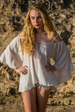 Boho Blouse Top - Oatmeal