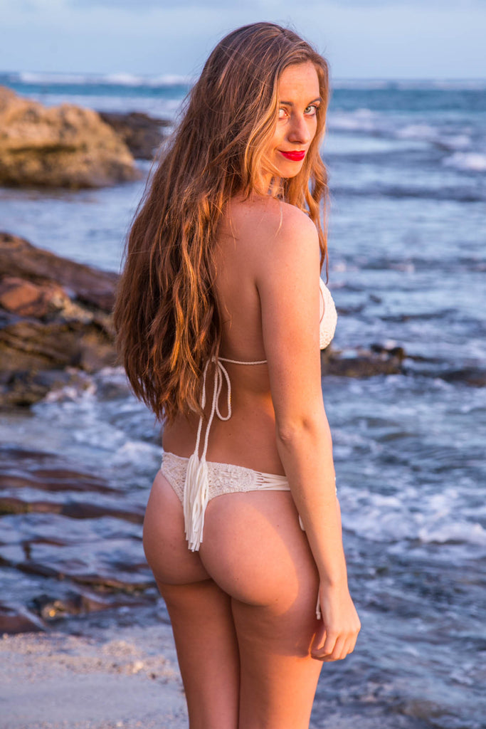 ROVE SWIMWEAR Ksenia Bottom - Ivory