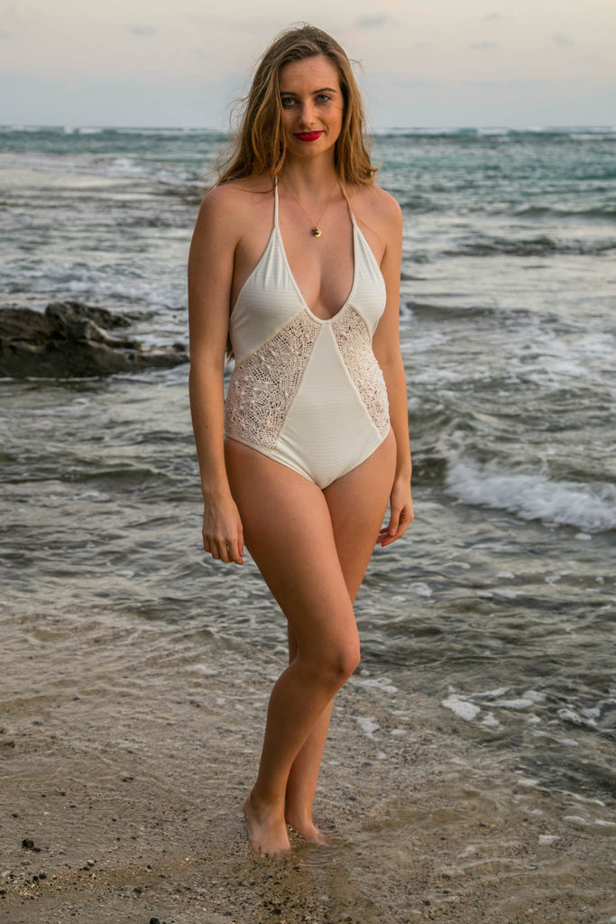 ROVE SWIMWEAR Cassiopeia One Piece - Ivory