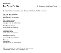Our Prayer for You