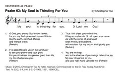 Psalm 63: My Soul is Thirsting for You