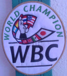 WBC World Champion Patch